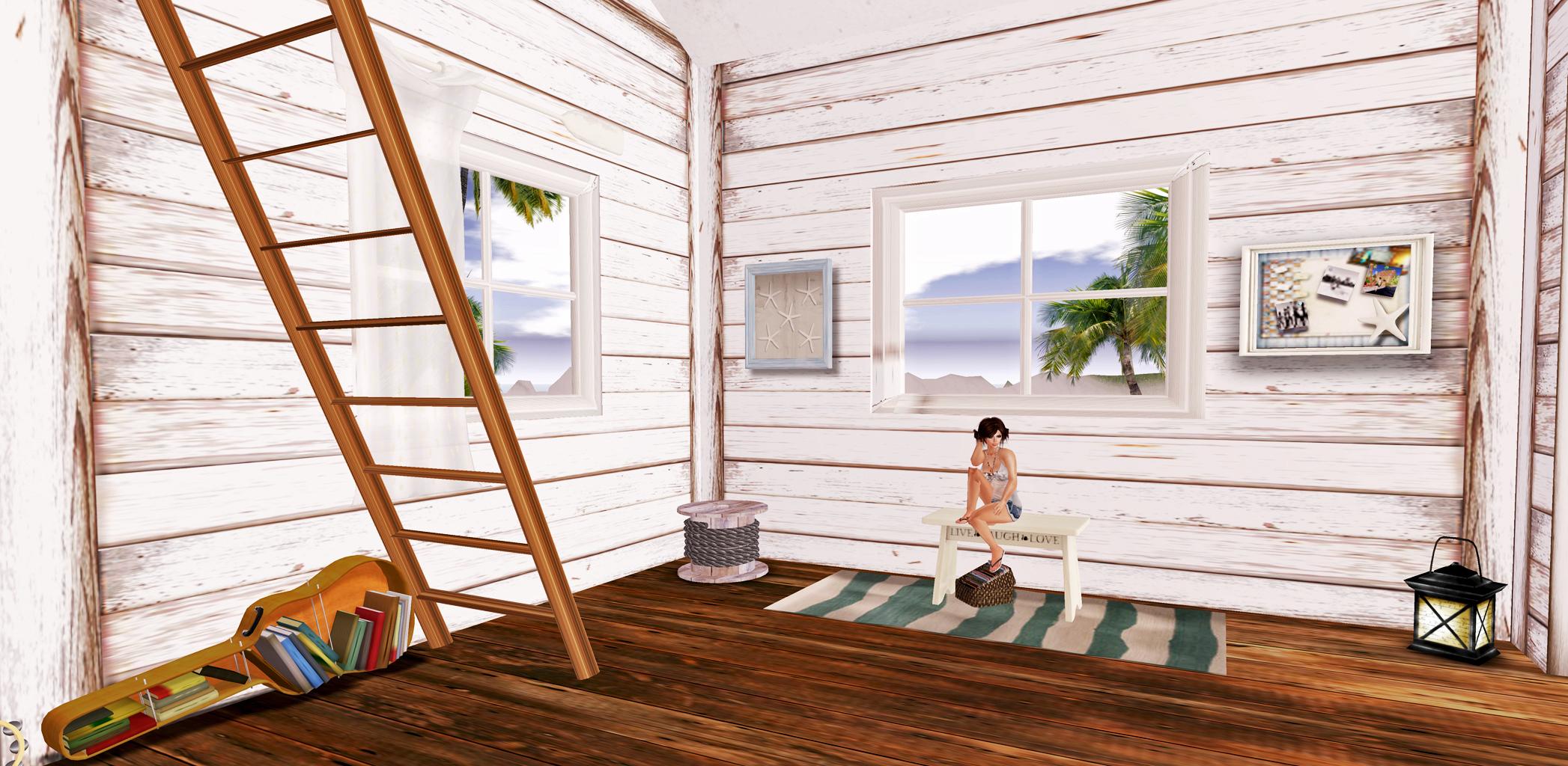 Beach Cottage Foyer